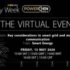 Virtual African Utility Week 2020 – Key considerations in smart grid and metering communication