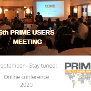 6th PRIME Users Meeting 2020 (Online)