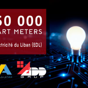 ADD GRUP supplying PRIME smart meters to Lebanon by 2022